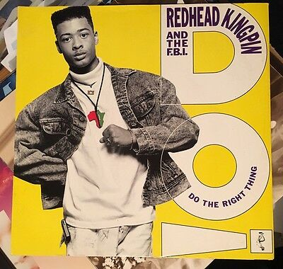 """Do The Right Thing Redhead Kingpin And The FBI 12"""" Vinyl"""