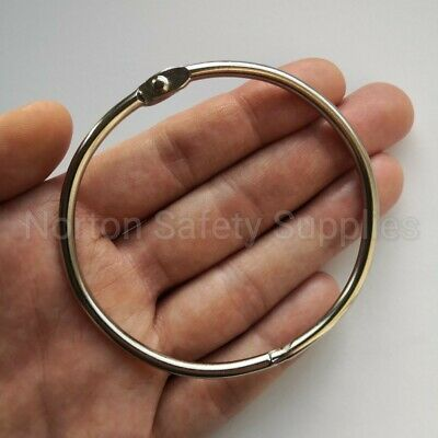Extra Large Jailers Fob / Keyring / Split Ring 76mm * MULTI-BUY DISCOUNT *