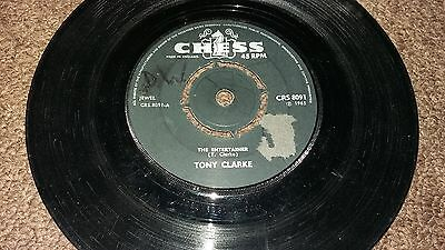 Tony clarke the entertainer chess record CRS 8091