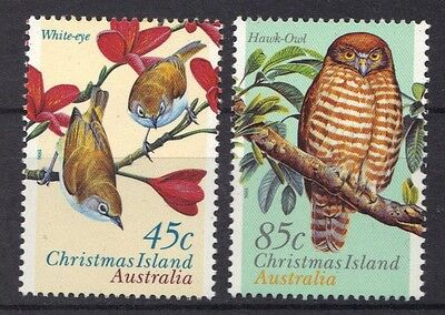 STAMPS from AUSTRALIA CHRISTMAS ISLAND 1996 LAND BIRDS   (MNH) lot 843a