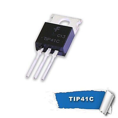 5pcs x TIP41C(NPN) TIP42C(PNP) Power Transistor (TO-220)