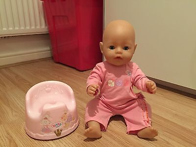 Baby Born Interactive Doll With Potty