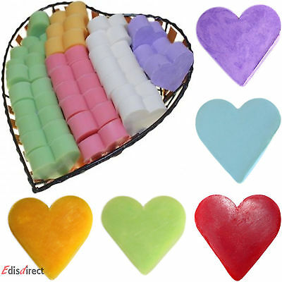 Heart Shaped Guest Soaps - 8 Different Fragrances To Choose - Perfect Gifts