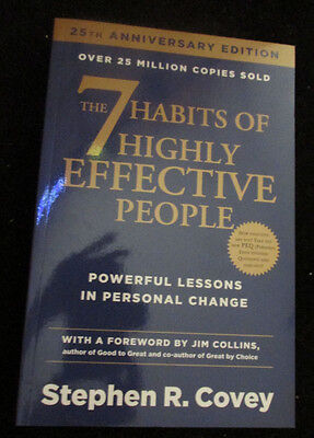 The 7 Habits of Highly Effective People Paperback – 4 Jan 2004  Stephen R. Covey