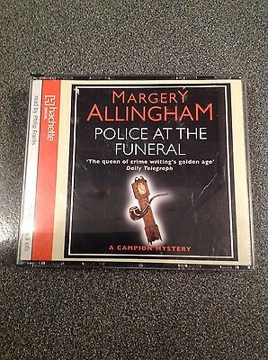 """Margery Allingham's """"Police at the Funeral""""  & """"Cargo of Eagles"""" audio CD books"""