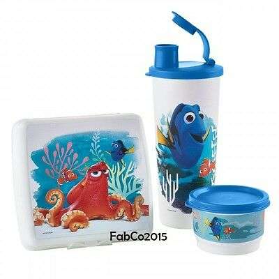 NEW Tupperware Finding Dory Lunch Set - New for 2016