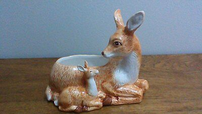Deer and Fawn Planter