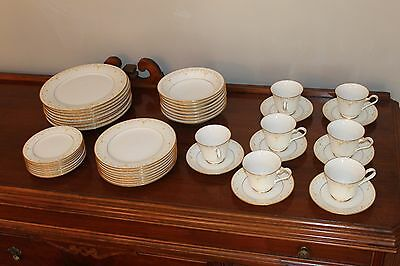 47 Piece Vintage Noritake China Fragrance Place Settings for 8