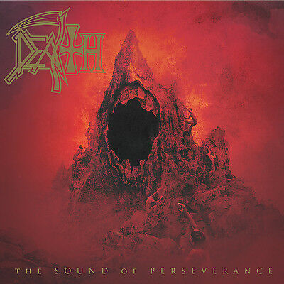 DEATH - The Sound Of Perseverance 2xLP  Blood Red / Gold Merge VINYL  + DL-CODE