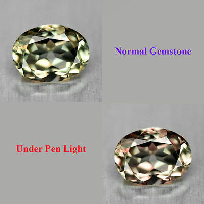0.78Cts EXCLUSIVE Grade Gem - Amazing Natural Color Change DIASPORE Oval - XH096