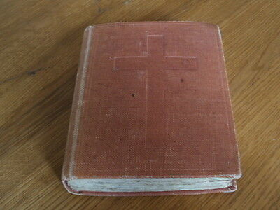 "Antique Personal Religious Scrapbook "" Words Strung Together "" - 1910/12"