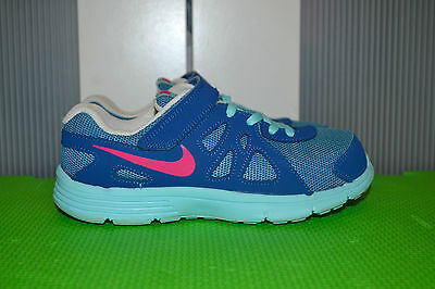 Nike Revolution -2 girls trainers size UK 1 VGC