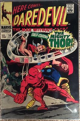 Daredevil #30 (Marvel 1967 1st series) VG+ condition. Bagged and boarded.