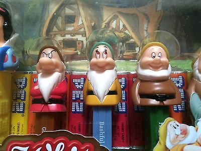 Disney Snow White And The Seven Dwarfs Pez Collector's Series Limited Edition
