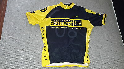Livestrong men cycling jersey size M
