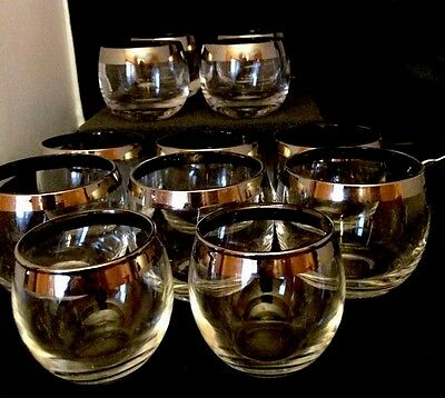13 Mad Men Dorothy Thorpe Silver Rim Mid Century Roly Poly Glasses 3 Sizes!