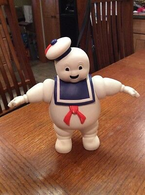 "Ghostbusters 1984 Vinyl Stay Puft Puff Marshmallow Man 7"" Figure Doll Lot"