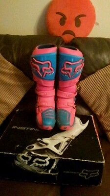 fox instincts boots limited edition uk10