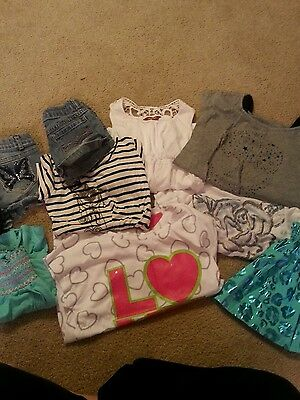 7/8 lot girl clothes