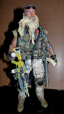 """US Private Militar Contractor PMC M4 gun Custom Very Hot Toys ACE 1/6 30 cm 12"""""""