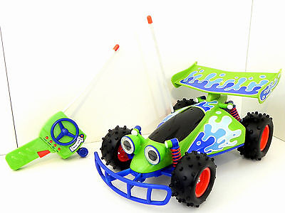 """Thinkway Toys Disney Toy Story R/C CAR Large 15"""" RC Buggy Car w/ Sounds & Remote"""