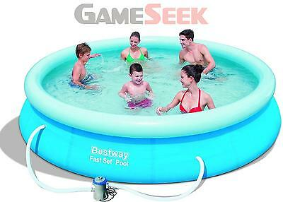 Bestway - Fast Set Pool 366X76Cm With Pump (57112) /outdoor Toys