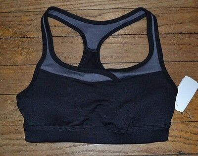 f7e0eece3fc9b MARIKA TEK BLACK Support Sports Bra Crop Top - Size XS -  19.98 ...