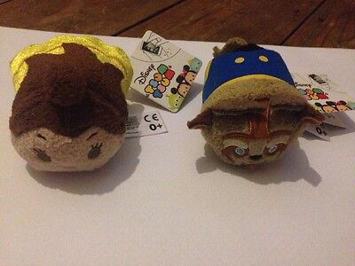 Brand New Tsum Tsums Soft Beauty And The Beast