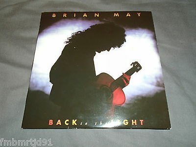 "Brian May (Queen) - Back To The Light 7"" Single (Freddie Mercury, Roger Taylor)"