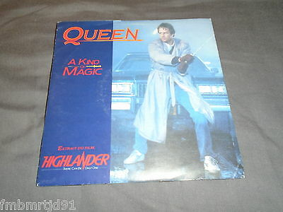 "Queen - A Kind Of Magic 7"" France (Freddie Mercury Brian May Roger Taylor)"