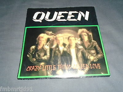 "Queen - Crazy Little Thing Called Love 7"" Sweden (Freddie Mercury, Brian May)"