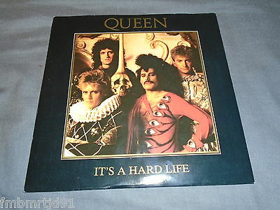 "Queen - It's A Hard Life 7"" UK (Freddie Mercury, Brian May, Roger Taylor)"