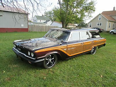 1963 Ford Galaxie WOOD 1963 FORD GALAXY COUNTRY SQUIRE WAGON WOOD GRAIN HOT ROD NO RESERVE