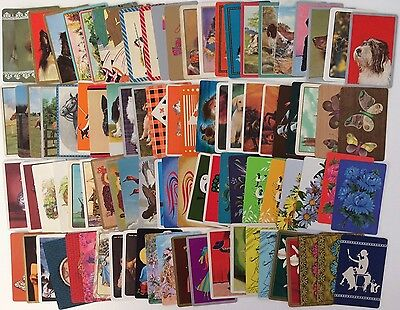 Bulk Lot Of 92 Vintage Swap / Playing Cards