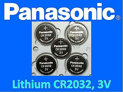**Save $1, Buy Any 2 Packs** 5 pieces Panasonic CR2032 3v, Lithium battery