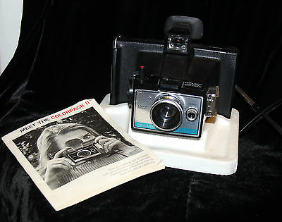 Polaroid Colorpack III Land Camera + Instruction Booklet