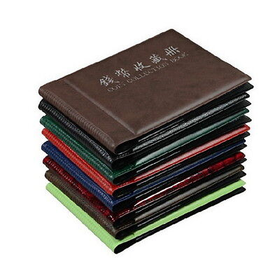60 Coins Album Coin Money Penny Collecting Book Holders Collection Storage CRE