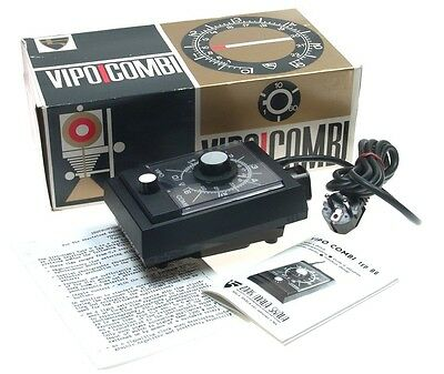 Vipo Combi Meopta Enlarger Timer New In Box Type B6.  New Boxed----Free Postage.