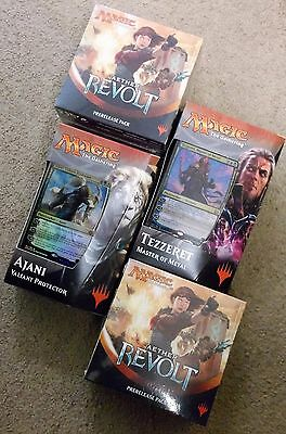 Magic Aether Revolt Prerelease Kit Lot Of 2 + Planeswalker Intro Deck Set Of 2