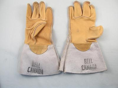 Vintage Bell Canada Telephone Company Employee Leather Glove Unused