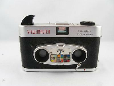 VINTAGE VIEW-MASTER RODENSTOCK STEREO COLOR CAMERA TRINAR 1:2,8/20mm