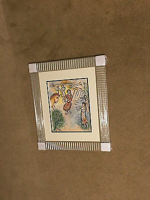 Marc Chagall 1989 Odyessy Lithograph Preparation for Candidates Feast