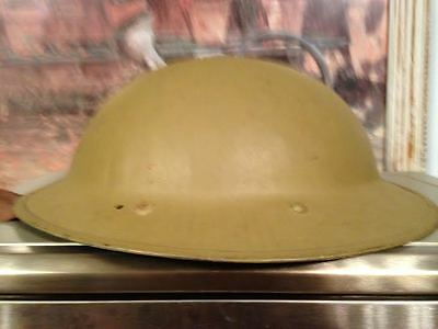 WWII South African helmet