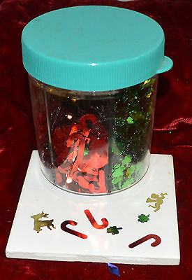 Table Top Confetti Valentine Cupid 4 Leaf Clover Candy Cane Reindeer