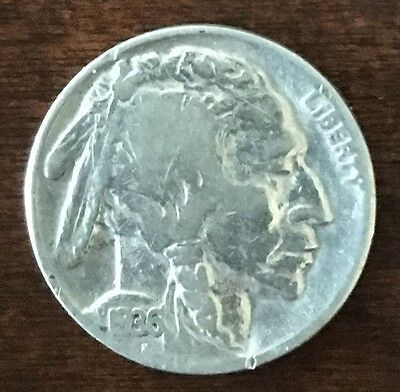 1936 P Buffalo Indian Head Nickel Coolest Design of any coin? 5 Legs?