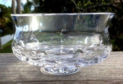 "Vintage Waterford Crystal 3.75"" x 5.5"" Bowl Old Mark  Excellent Condition"