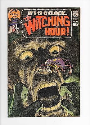 The Witching Hour   No.13  Vf 1971  Dc  Comics