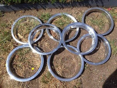 Chrome Wheel Trims Suit Xp Falcon Etc Will Freight
