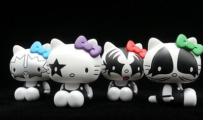 """2013 Rare Hello Kitty X Cosplay Kiss Brand Limited Edition 4 Figures Doll Set 4"""""""
