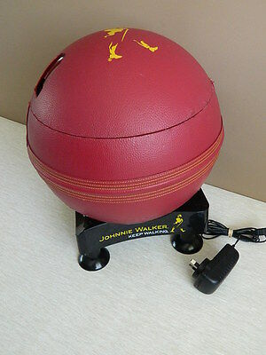 Johnnie Walker Cricket Ball Multi-Angling Cooler & Warmer 6.5 Litres Rare